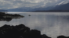 Kayaking in Southeast Alaska 4K Stock Footage