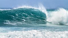 breaking wave - stock photo