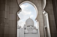 Sheikh Zayed Mosque, Abu Dhabi - stock photo