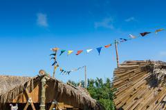 Salou, SPAIN - AUGUST 26, 2014: Amusement Park Port Aventura Kuvituskuvat