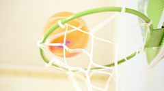 Basketball hoop Stock Footage