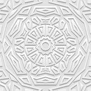 Seamless arabic geometric  pattern, indian ornament, persian motif Piirros