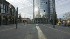 Drazen Petrovic Basketball Centre and Cibona Towe, Zagreb Stock Footage