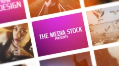 Stock After Effects of Photo Montage
