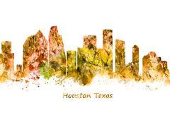 Houston Texas Piirros