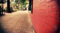 Urban City Scenes In Greenville South Carolina Stock Footage