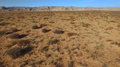 Flight over Mojave desert, Arizona Stock Footage