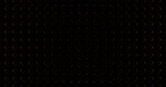 Diamond 3D Mapping EDM Visual Event Clip Orange Stock Footage