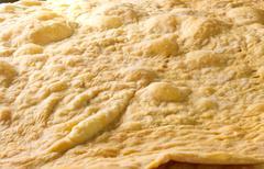 Baked piece layers Stock Photos