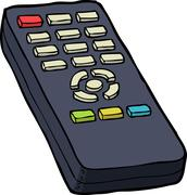 TV remote control Piirros
