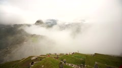 MACHU PICCHU: Typical view, Peru, South America Stock Footage