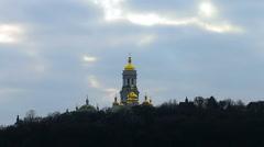 Pechersk Lavra Monastery Stock Footage