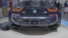 2016 BMW i8. Toronto International Auto Show. Stock Footage