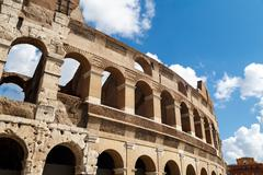 Close up Colosseum View - stock photo