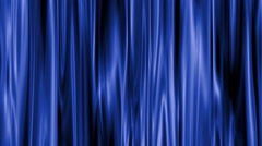 Blue satin curtains background - stock footage