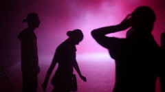 Choreographer is Looking at Dance Rehearsal Coach Stock Footage