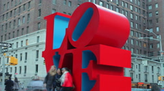 LOVE_NYC-EDITORIAL Stock Footage