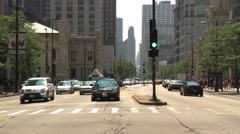 CHICAGO TIMELAPSE TRAFFIC Stock Footage