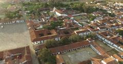 Villa de Leyva Plaza - stock footage