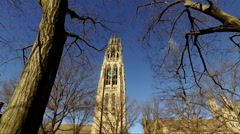 NEW HAVEN, CT - 2006: Yale Campus - stock footage