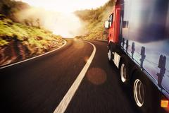 Transport truck - stock illustration