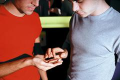 Stock Photo of Male hand holding recreational drugs