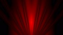 Dark red beams video animation - stock footage