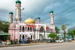 Traditional mosque in south Thailand Stock Photos