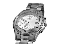 Stock Photo of Automatic wrist watch - clipping path
