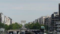 Traveling by metro in Paris. - stock footage