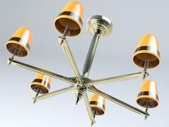 Fancy Chandeliers - 3D model