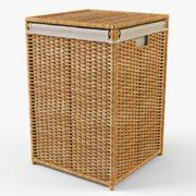 Laundry Basket Ikea Branas - 3D model