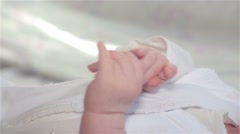 baby hands - stock footage