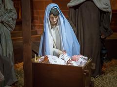 Mary And Jesus - stock photo