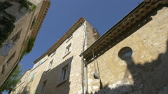 M.J.B. Gallery in a building in the medieval walled town of Saint-Paul-de-Vence Stock Footage