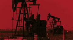 Oil Shortage - stock footage