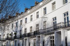 Luxury Georgian Apartments - stock photo
