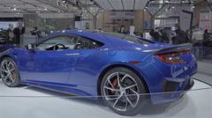 2017 Acura NSX. 2016 Toronto International Auto Show. Stock Footage