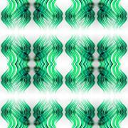 Abstract seamless symmetrical geometric background - stock illustration
