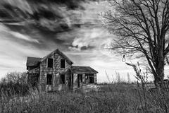 Creepy Old House Stock Photos