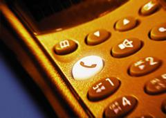 Cellular telephone Stock Photos