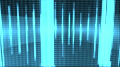 Music Graphics Equalizer Motion Background - stock footage