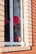PERM, RUSSIA, NOVEMBER 19.2015:Installation of  plastic window Stock Photos