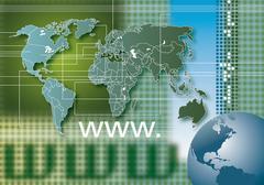 Global Internet Stock Illustration