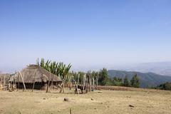 Farm and home in Ethiopia Kuvituskuvat