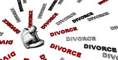 Divorce Stock Illustration