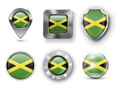 Jamaica - stock illustration