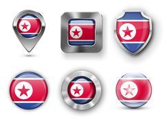 North Korea - stock illustration