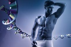 Genetic inheritance - stock photo