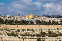 Jerusalem landscape Stock Photos